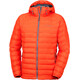 Columbia Powder Lite Hooded Jacket Men Hot Pepper